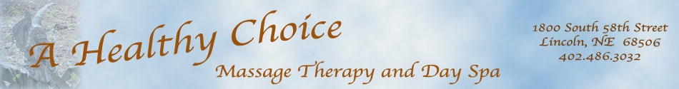 A healthy choice banner art and sign marble blue with gold writing